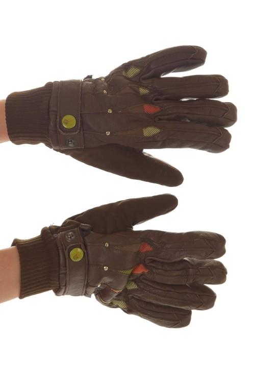 Женские кожаные перчатки 18.00