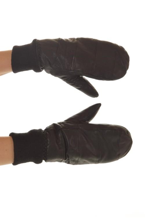 Женские кожаные перчатки 15.00