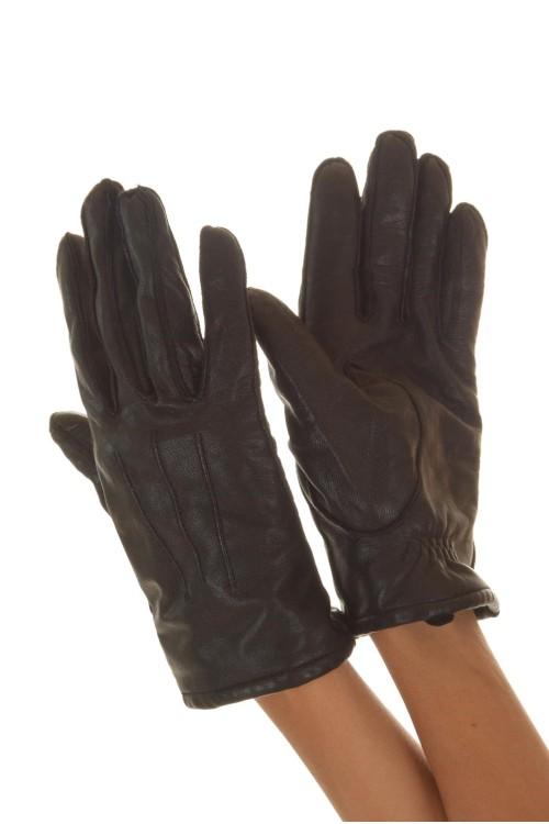 Женские кожаные перчатки 12.00
