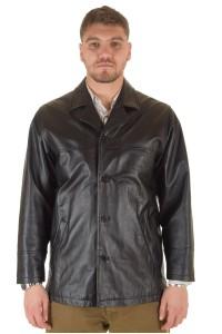 Мъжко яке от мека и плътна естествена кожа