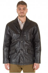 Класическо мъжко кожено яке