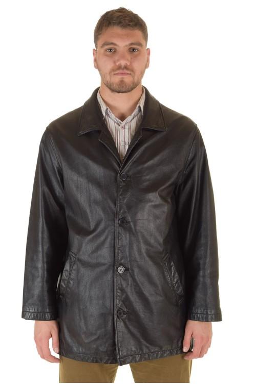 Хорошая мужская кожаная куртка 69.00