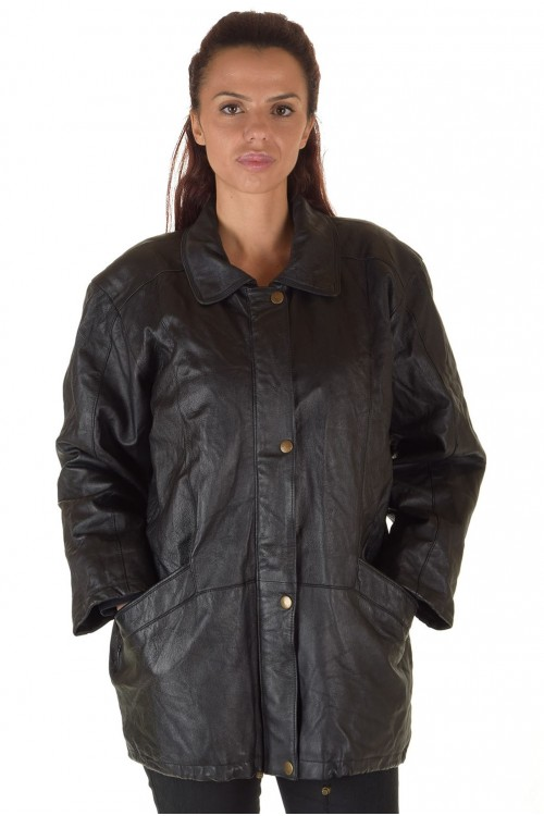 Чудесная женская кожаная куртка 67.00