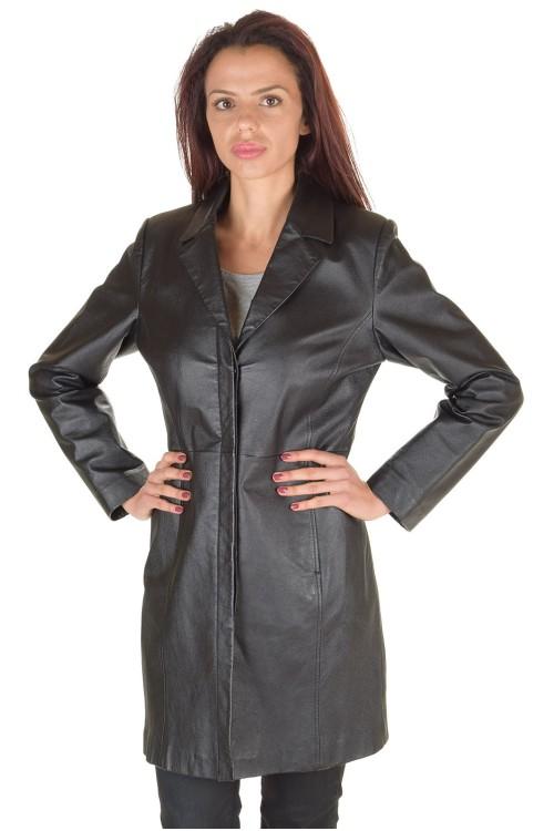 Великолепен дамски кожен шлифер 77.00