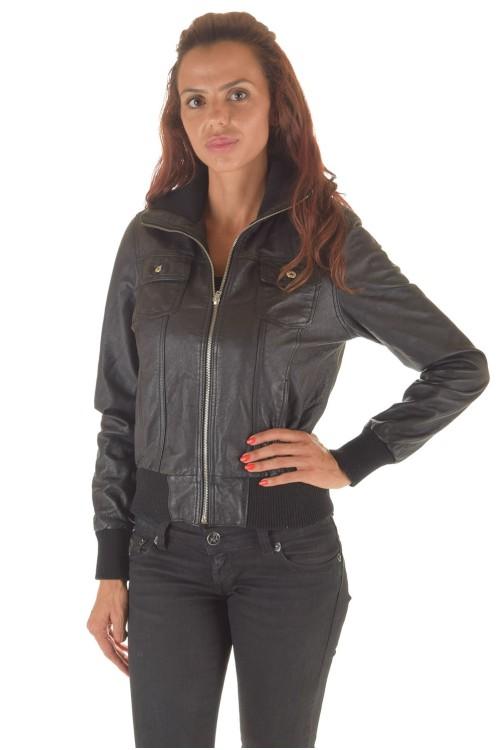 Дамско яке от естествена кожа 62.00