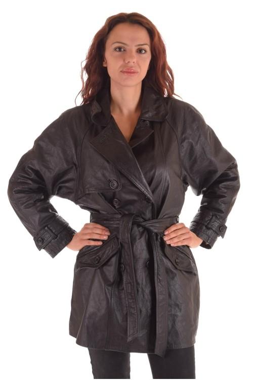Марков дамски кожен шлифер 69.00