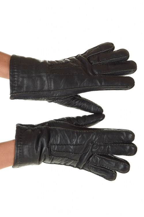 Страхотни дамски ръкавици от естествена кожа 12.00
