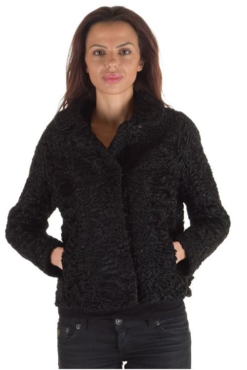 Стилно дамско палто от естествен косъм 179.00