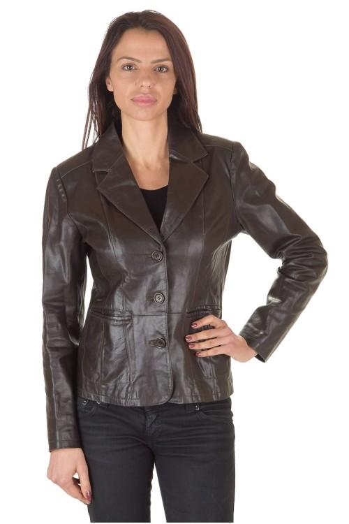 Стилно дамско кожено сако 45.00