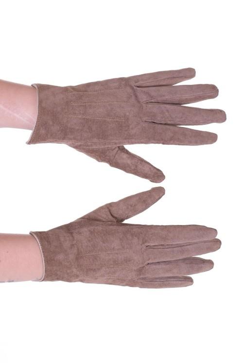 Велурени ръкавици от естествена кожа 15.00
