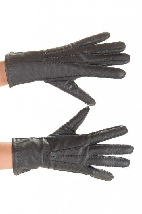 Стилни дамски ръкавици от естествена кожа 15.00