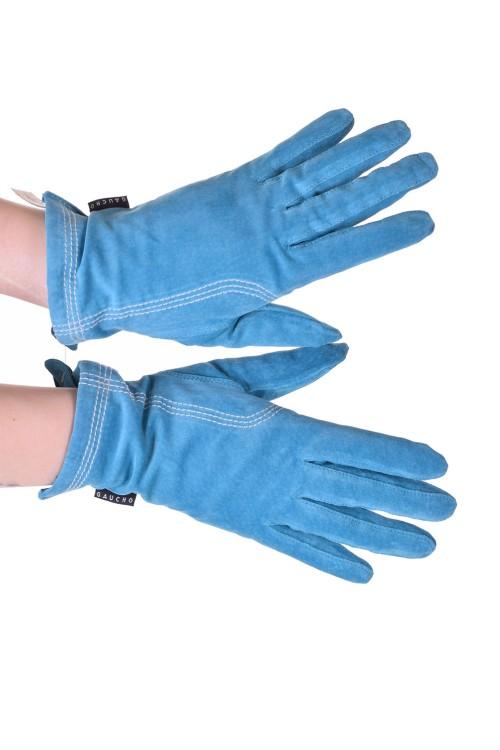 Красиви дамски велурени ръкавици от естествена кожа 20.00