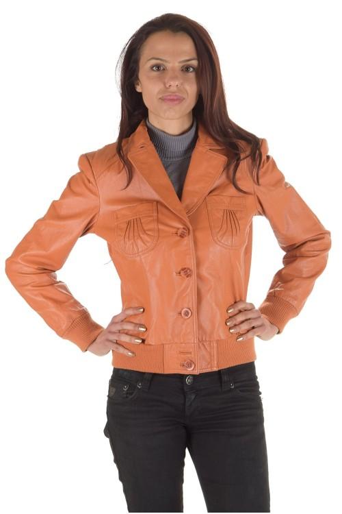 Дамско яке от естествена кожа 74.00