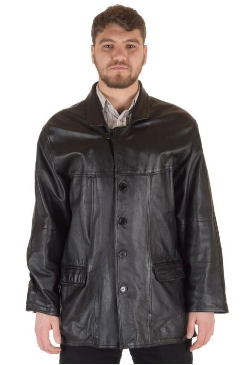 Мъжко яке от нежна и мека естествена кожа 69.00
