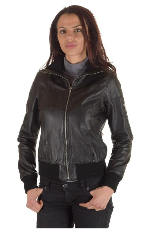 Дамско яке от естествена кожа 64.00