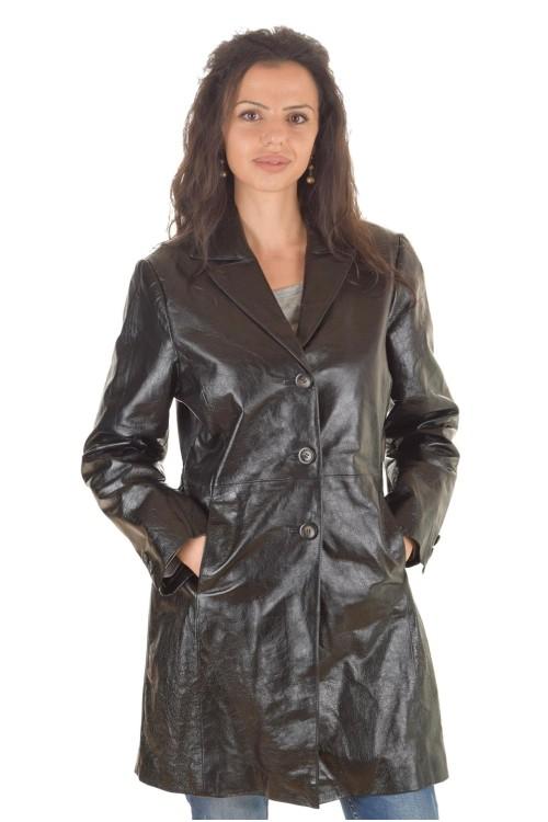 Дамски кожен шлифер 62.00