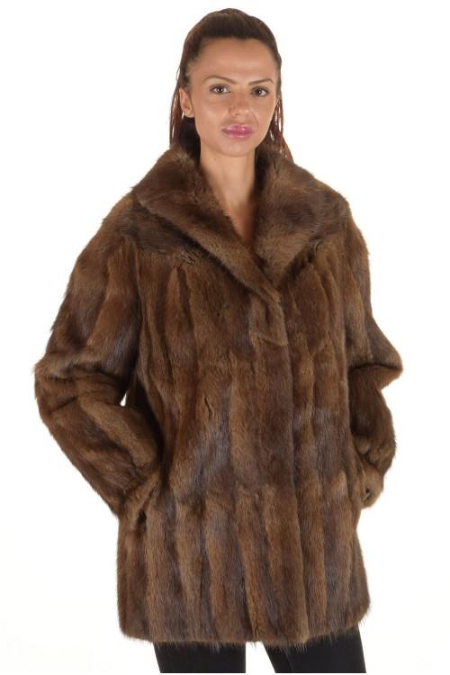 Дамско палто от естествен косъм 149.00
