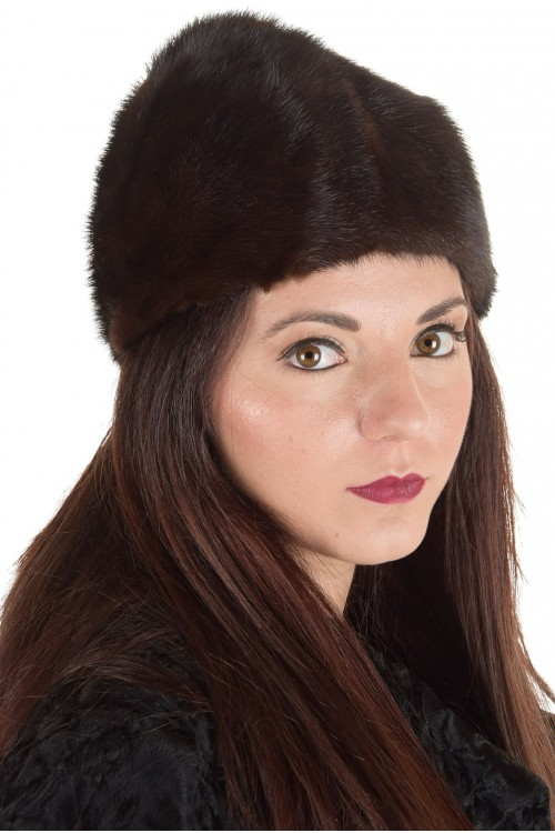 Отлична дамска шапка от естествен косъм 29.00