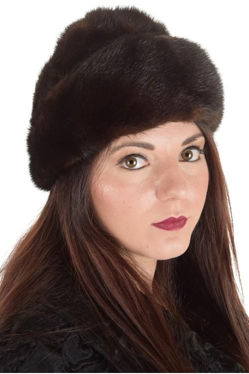 Първокласна дамска шапка от естествен косъм 29.00