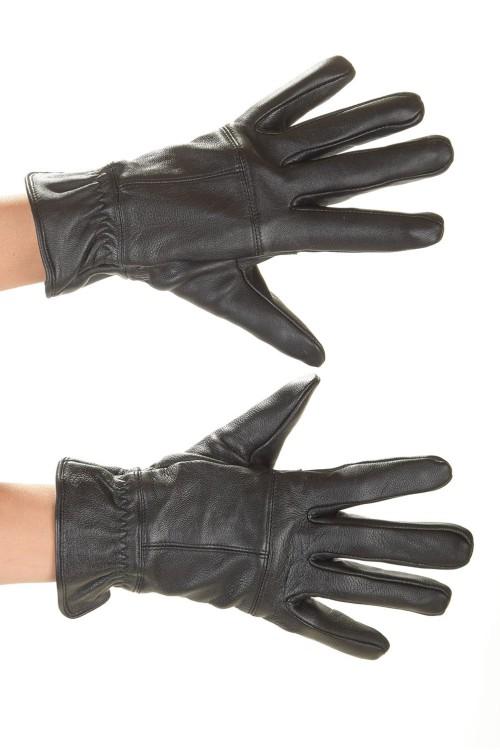 Кожаные перчатки 18.00