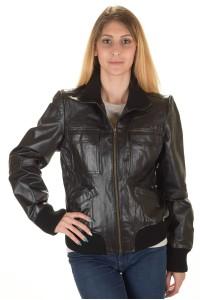 Актуално дамско кожено яке