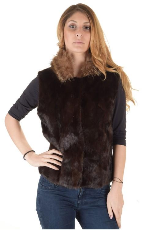 Палто от естествен косъм 149.00