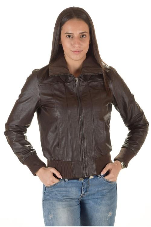 Женская кожаная куртка 64.00