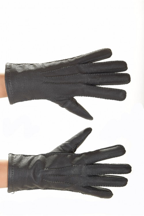 Кожаные перчатки 15.00