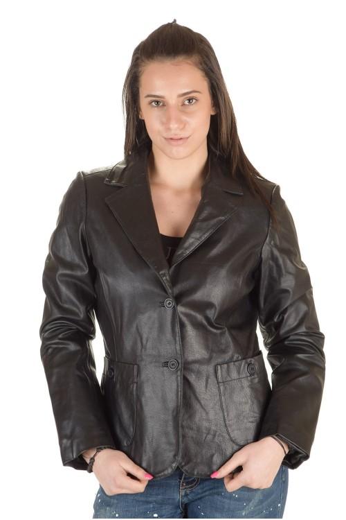 Кожаный пиджак 64.00