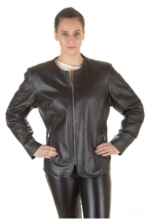 Кожаная куртка 68.00