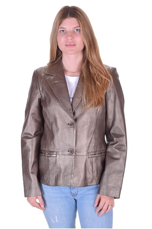 Първокласно дамско кожено сако 89.00