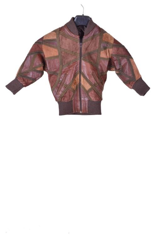 Детско велурено яке от естествена кожа 45.00