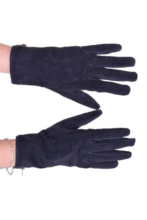 Елегантни дамски велурени ръкавици от естествена кожа 18.00