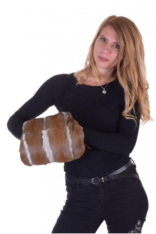 Дамска чанта от естествен косъм 75.00