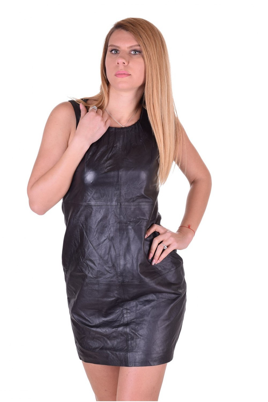 b677333ce0d8 Εξαίσιο γυναικείο δερμάτινο φόρεμα | furlando - leather and fur.