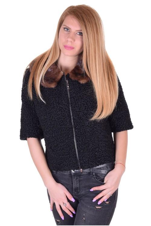 Дамско палто от естествен косъм 129.00
