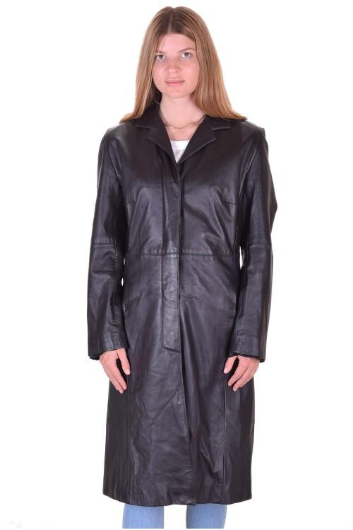 Елегантен дамски кожен шлифер 64.00
