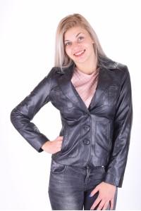 Черно дамско яке