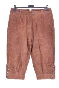 Тъмно кафяв дамски панталон