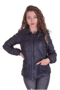 Отличная женская куртка из натуральной кожи