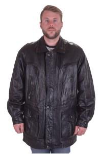 Стилно мъжко яке от естествена кожа