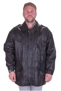 Черно кожено яке