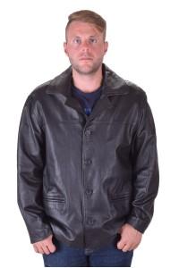 Елегантно черно мъжко яке
