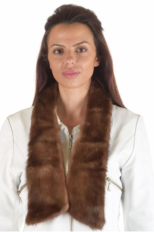 Красива дамска яка от естествен косъм 29.00
