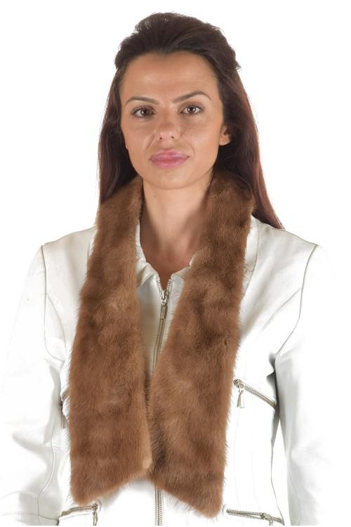 Представителна дамска яка от естествен косъм 29.00