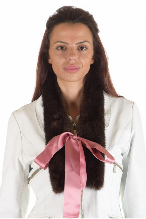Модна дамска яка от естествен косъм 29.00