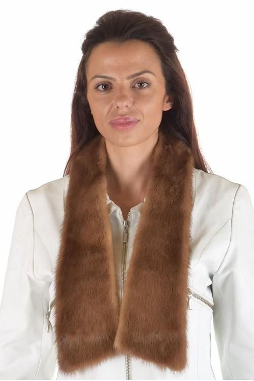 Дамска яка от естествен косъм 29.00