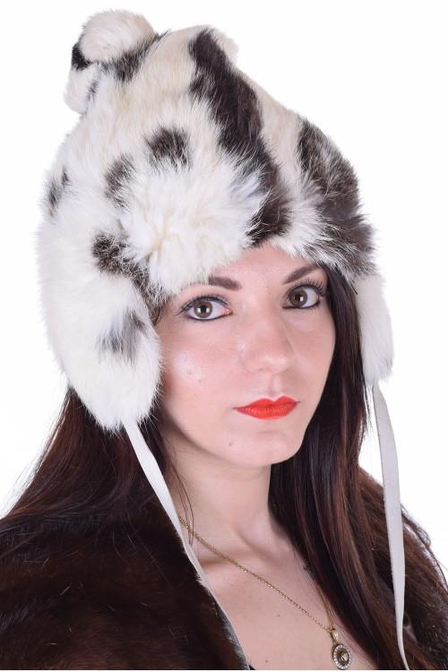 Модерна дамска шапка от естествен косъм 29.00