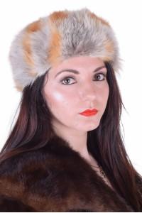 Дамска шапка от лисица