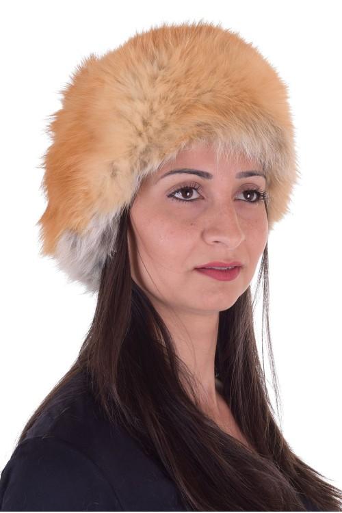 Отлична дамска шапка от лисица 39.00